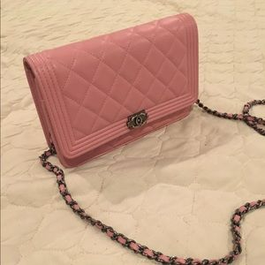 100% Authentic Chanel Boy Mini Wallet On Chain